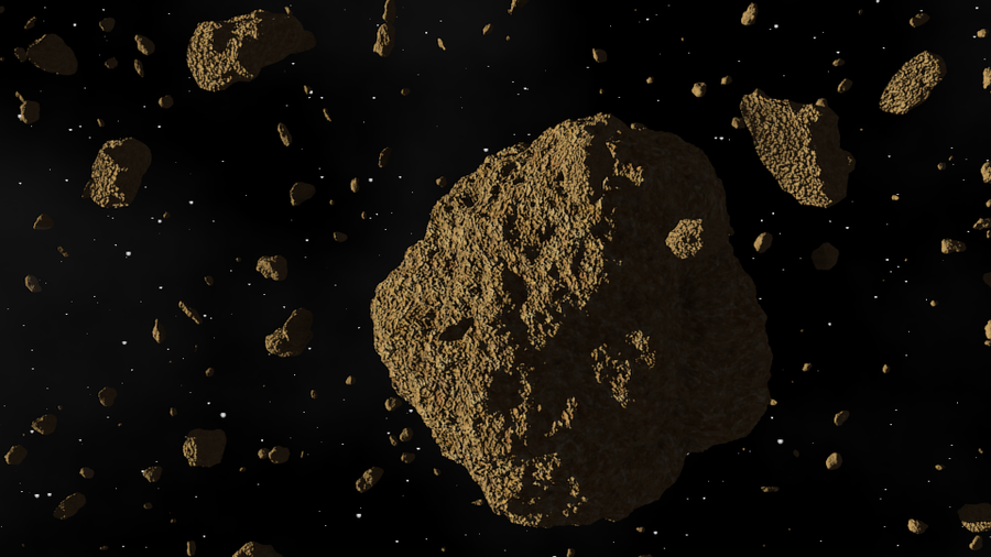 Asteroids In Space by 7Dexter7