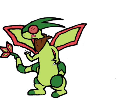 The 'True' Flygon by FlaresZNightmare