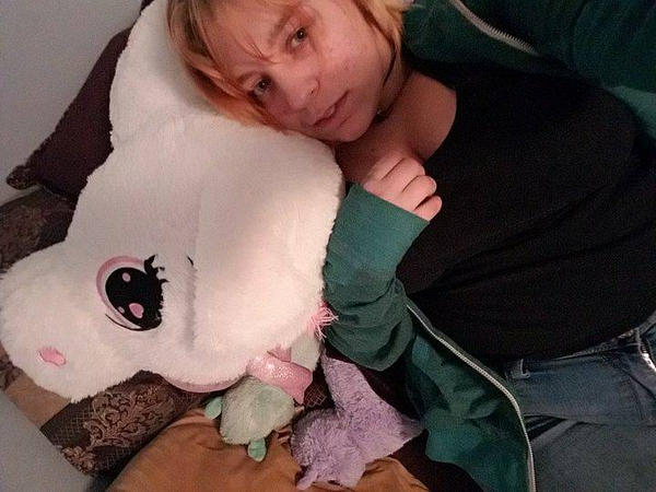 a person with many stuffed animals  by SugoiPotatoCosplay