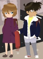 C'mon, take it already, Haibara. by pharlyn
