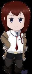 Kurisu Makise by pharlyn