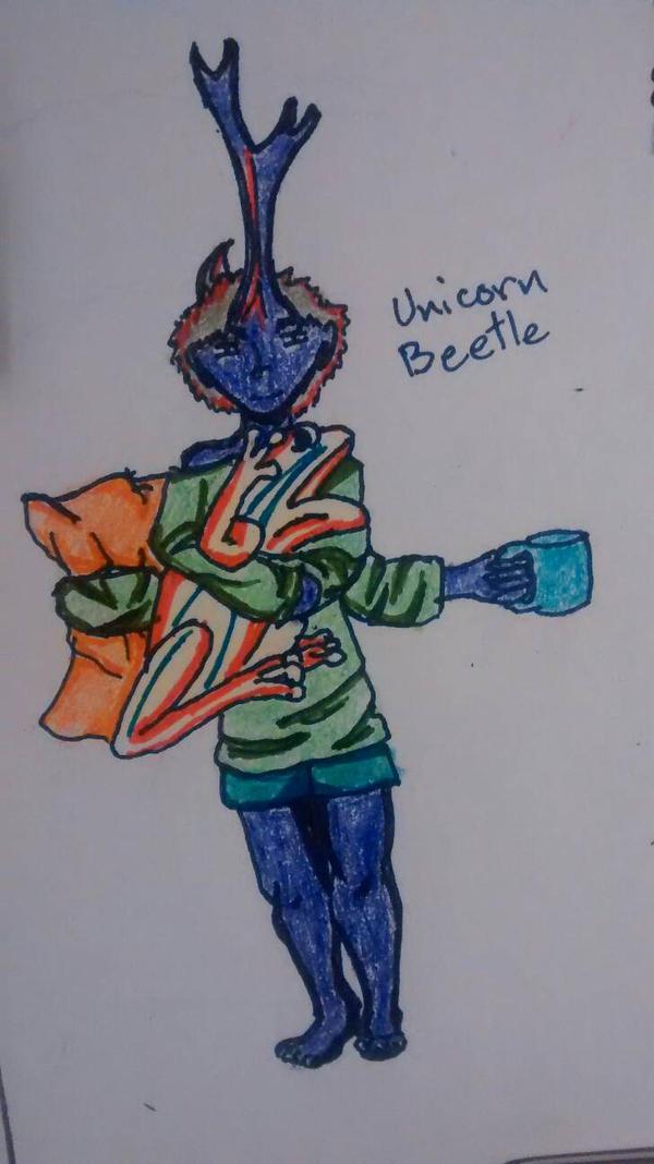 Unicorn Beetle by RadicalxEdwardxMPU