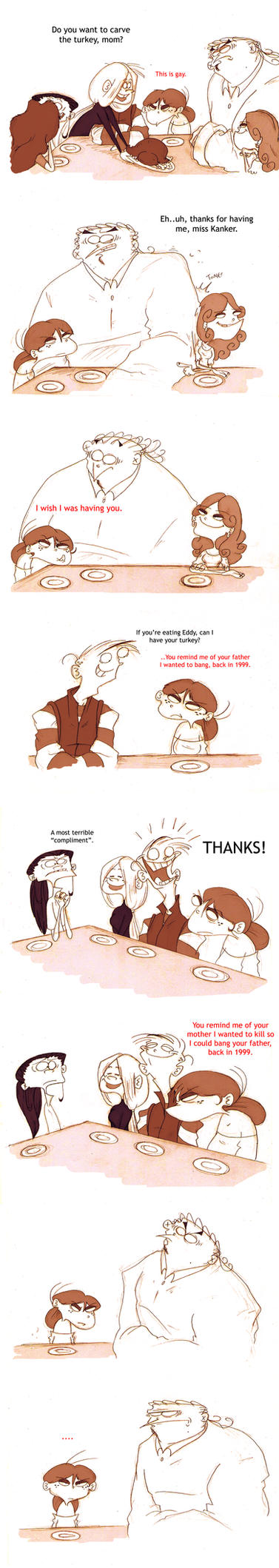 Dinner With The Kankers PART 2 by VampireMeerkat
