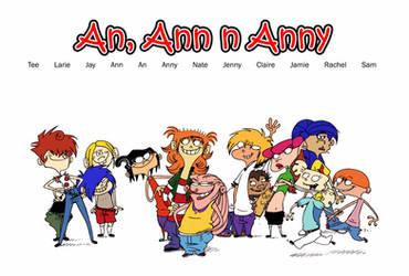 An, Ann n Anny Cast by VampireMeerkat