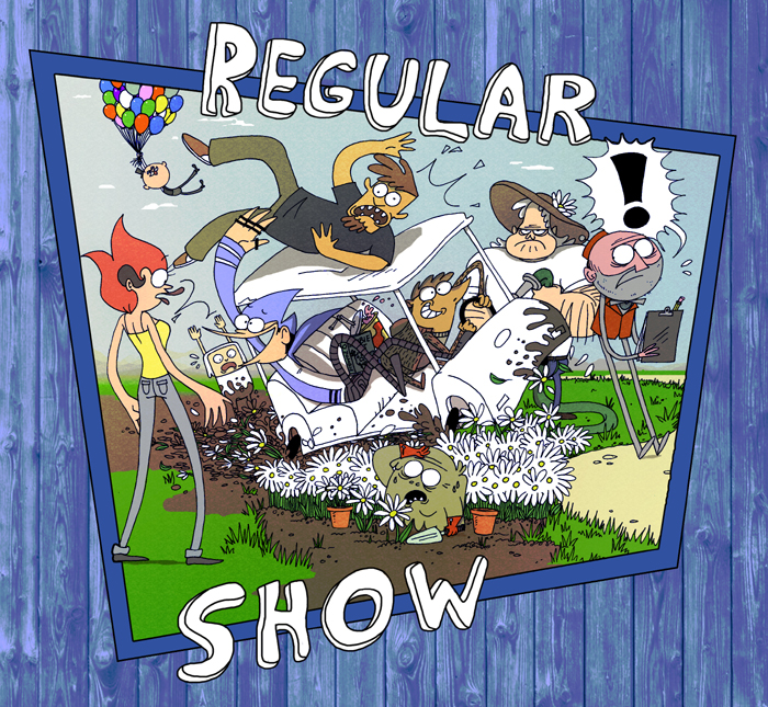 The Very Regular Show by VampireMeerkat