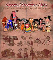 Super disturbing Native American Ed, Edd n Eddy by VampireMeerkat