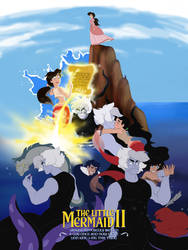 The Little Mermaid 2: Ursula could've had a son by VampireMeerkat