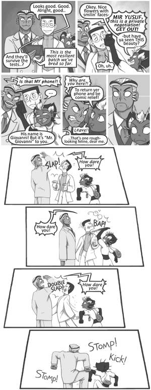 Humanized Pokemon - How dare you!