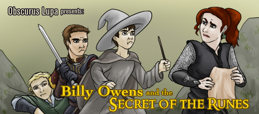 OL: Billy Owens and the Secret of the Runes by kitsune2022