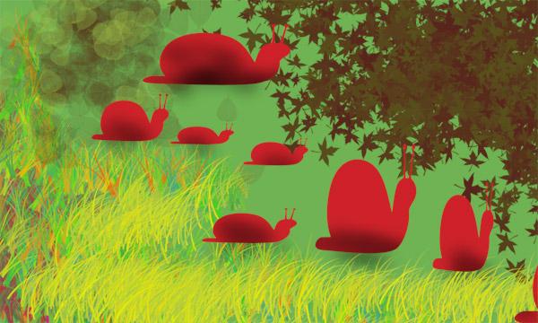 snails by adamichiko