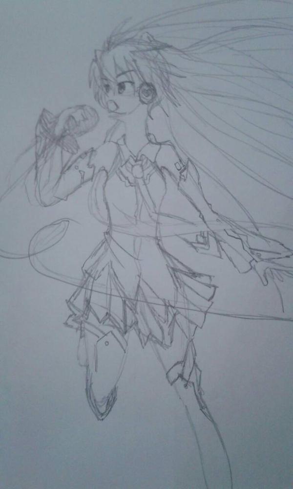 Hatsune Miku Magical Mirai 2014 Outfit WIP by Monouzaka-Orihime