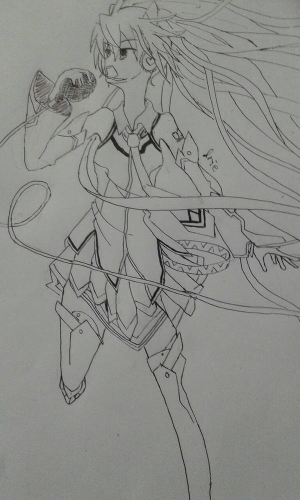 Hatsune Miku Magical Mirai 2014 Outfit (finish) by Monouzaka-Orihime