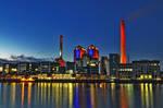 Industry at Frankfurt City