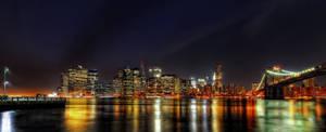 New York Skyline by Aerostylaz