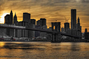 New York Sunset II by Aerostylaz
