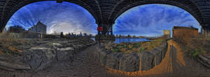 Manhatten Bridge III by Aerostylaz