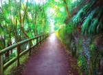 Ghibli forest inspo
