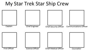 My Star Trek Starship Crew Meme
