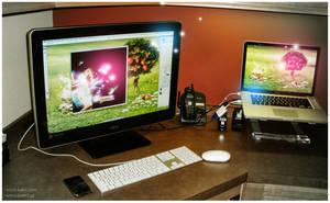 my work space v.2 by kakiii