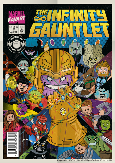 Lego Infinity War (Comic infinity gauntlet) by bykevinec