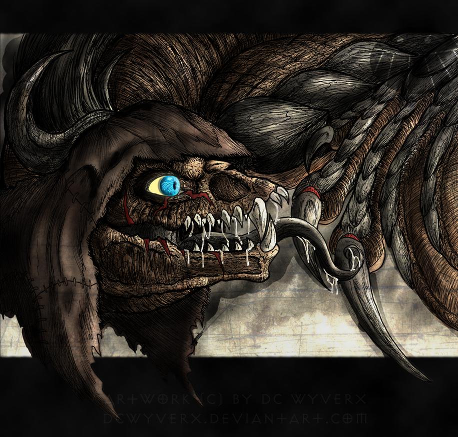 Arkham Beast by DCWyverx