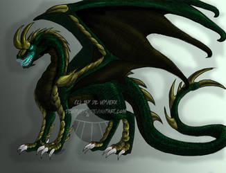 Loki Dragon by DCWyverx