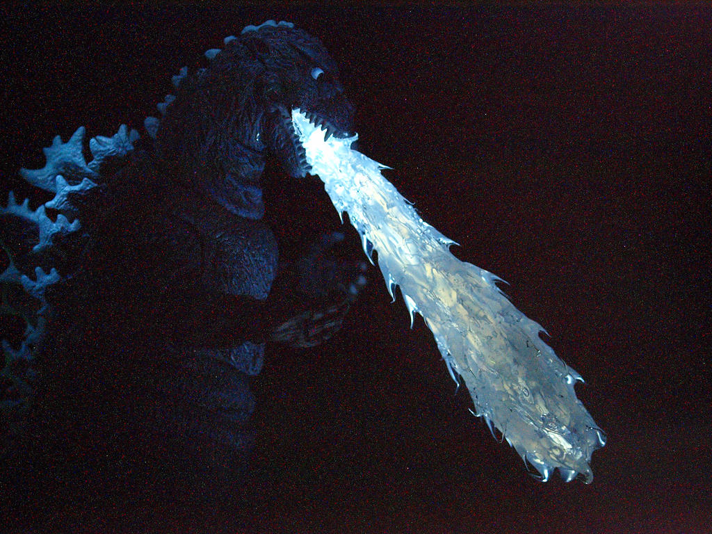 Neca Godzilla 1954 Custom Atomic Breath Effect by ...