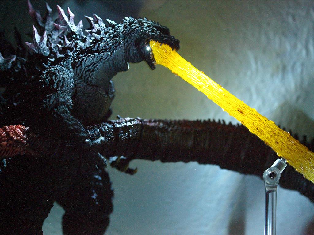 Monsterarts Godzilla 2000 Atomic Breath Piece (12) by ...