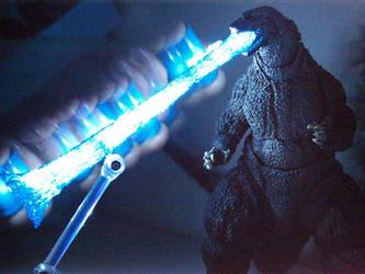 Monsterarts Godzilla Atomic Breath (14) by Darkeyedkid