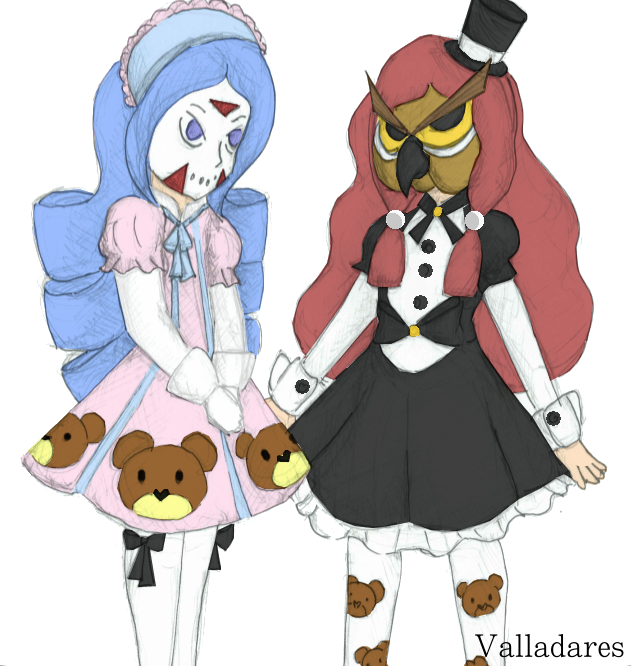 Vanoss and Delirious as Lolitas by ThatOneFan095 on DeviantArt