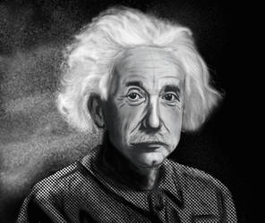 Albert Einstein by Nomena-ALRINA