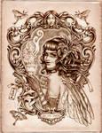 Absinthe Steampunk Fairy by brigidashwood