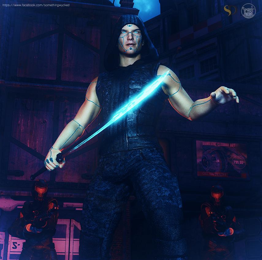 Obsidian #2 (Promo) by Something-Wycked