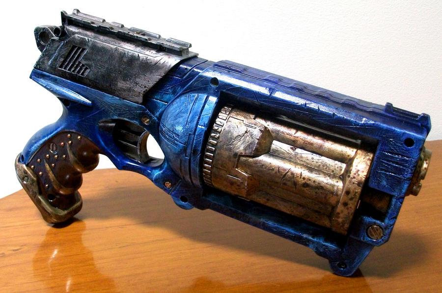 Custom Painted Nerf Stampede