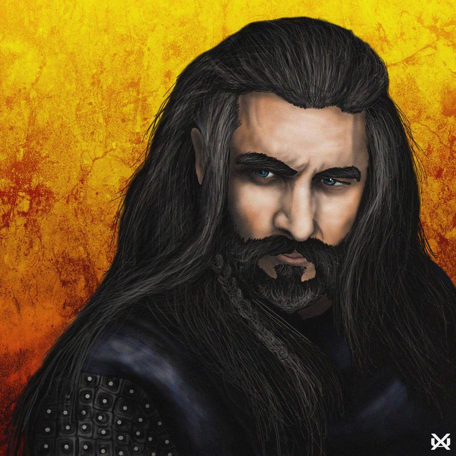 Thorin Oakenshield The Hobbit by XantheUnwinArt