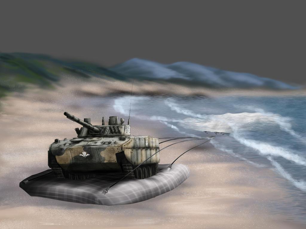 russian BMD 4 wip by XantheUnwinArt