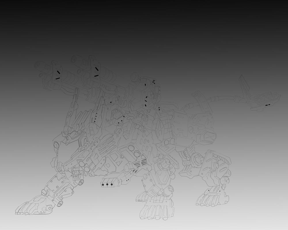 Line Art Zero : Borderlands aceo maya and zero by justicedude on deviantart