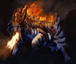Staalpard Fire/Steel Starter fakemon final