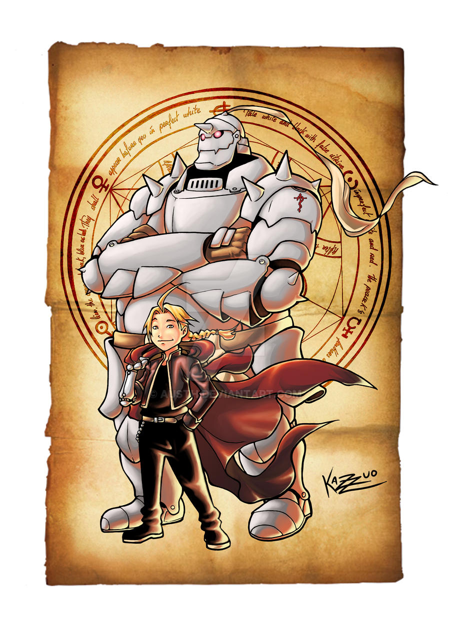 Full Metal Alchemist by Kazuo by Austh