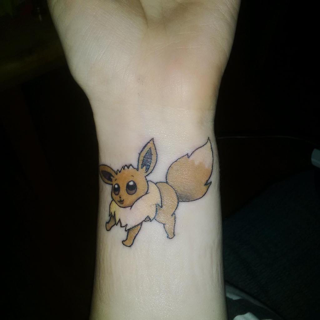 eevee tattoo - photo #5