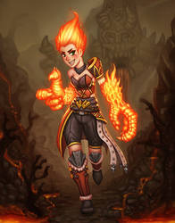 A Fire Mage