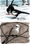 Swedish winter birds 3 by Belazikkal