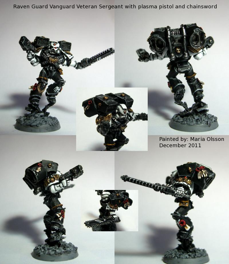 Raven Guard Vanguard Veteran Sergeant by Belazikkal