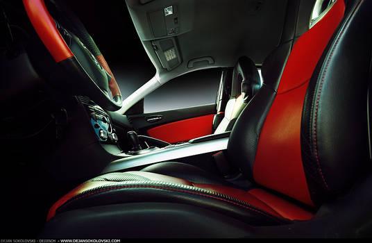 Mazda RX 8 - the interior -