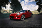 Mazda RX8 - at golf course 2 -