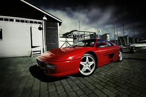 Ferrari 355 - side front - by dejz0r