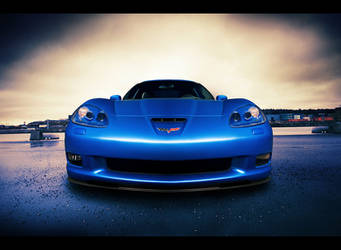 Corvette C6 z06 front by dejz0r