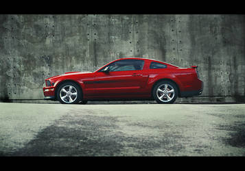 My Ford Mustang GT by dejz0r