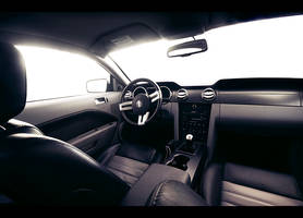 Mustang interior .2 by dejz0r