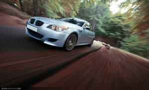 BMW M5 E60 - fast-ass car